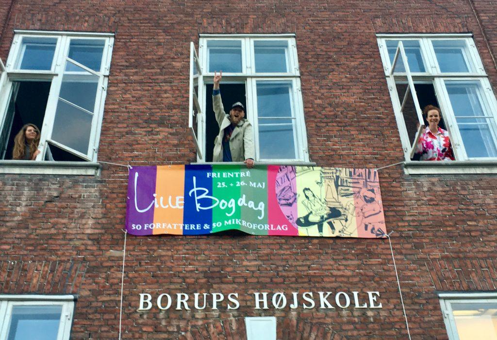 Lille bogdag, banner